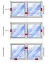 Doppelfensterschloss W - Zusatzsicherung